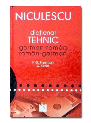 DICTIONAR TEHNIC GERMAN-ROMAN