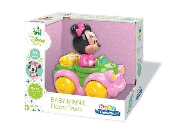 Masina cu sunet,Minnie,Clementoni,6M+