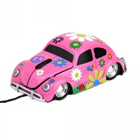 Mouse forma masina, roz