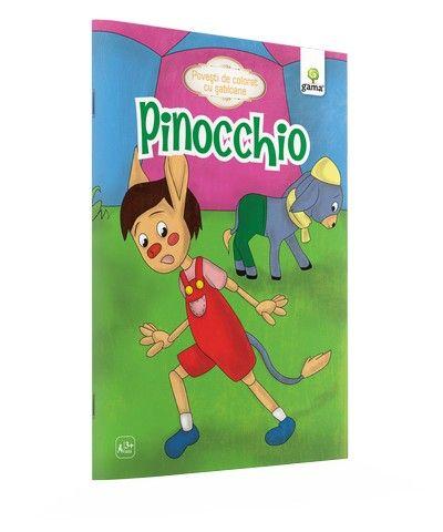 PINOCCHIO/ POVESTI DE COLORAT CU SABLOANE. 2015