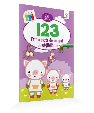 123/ CARTE DE COLORAT CU ABTIBILDURI. JUNIOR.15