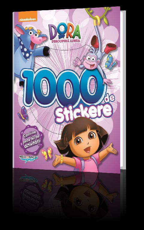 DORA CARTE CU 1000 STICKERE