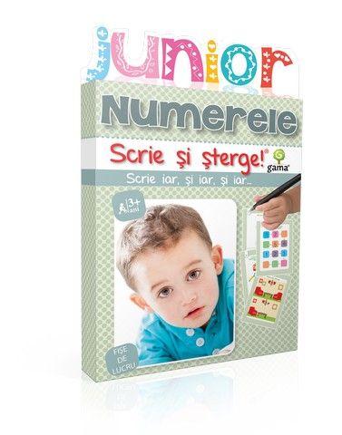 NUMERELE/ SCRIE SI STERGE JUNIOR