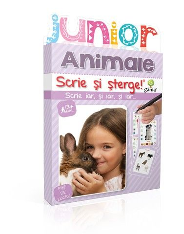ANIMALE/ SCRIE SI STERGE JUNIOR