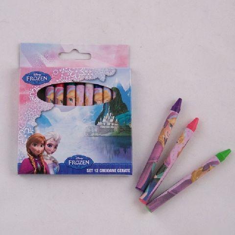 Creioane cerate 12 buc/set,Frozen
