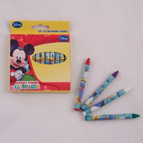 Creioane cerate 12 buc/set,Mickey
