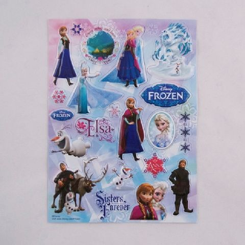 Abtibilduri 3D Frozen