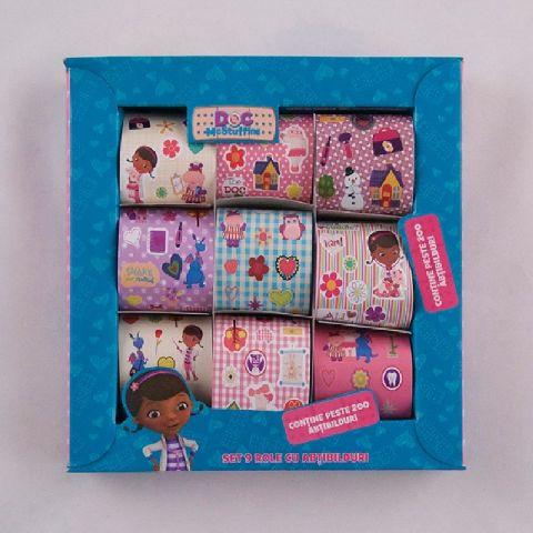Cutie cu stickere,9role/set,Plusica