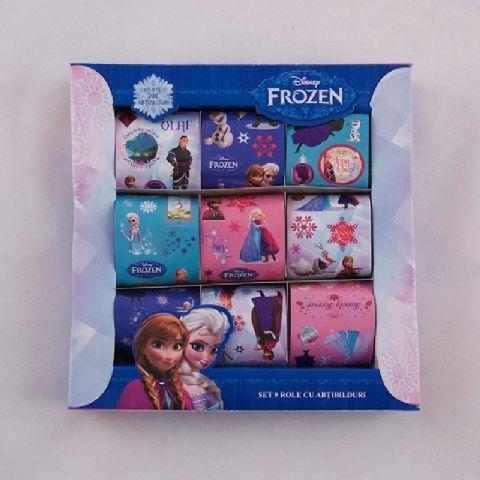Cutie cu stickere,9role/set,Frozen