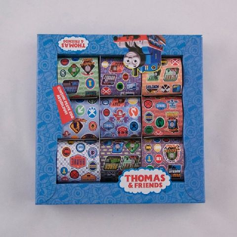 Cutie cu stickere,9role/set,Thomas