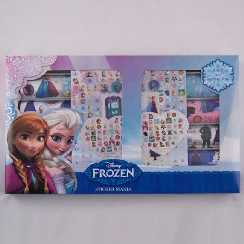 Stickmania,peste 450stickere,Frozen