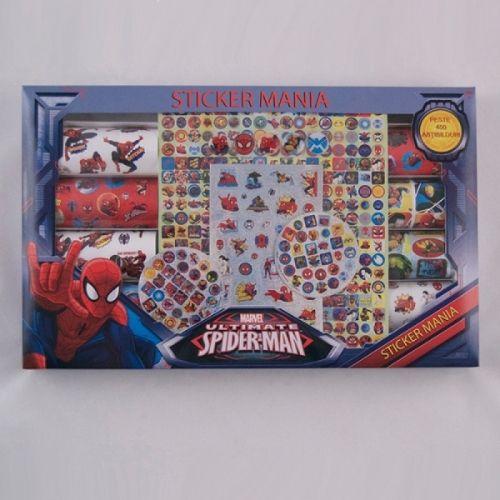 Stickmania,peste 450stickere,Spiderman