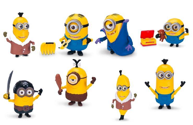 MINIONS - Figurina mobila, diverse personaje