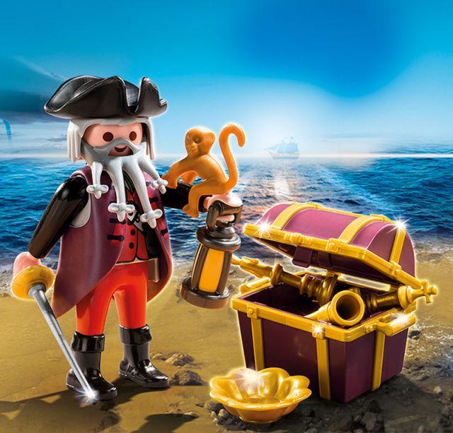 Playmobil-Piratul si cufarul comorii