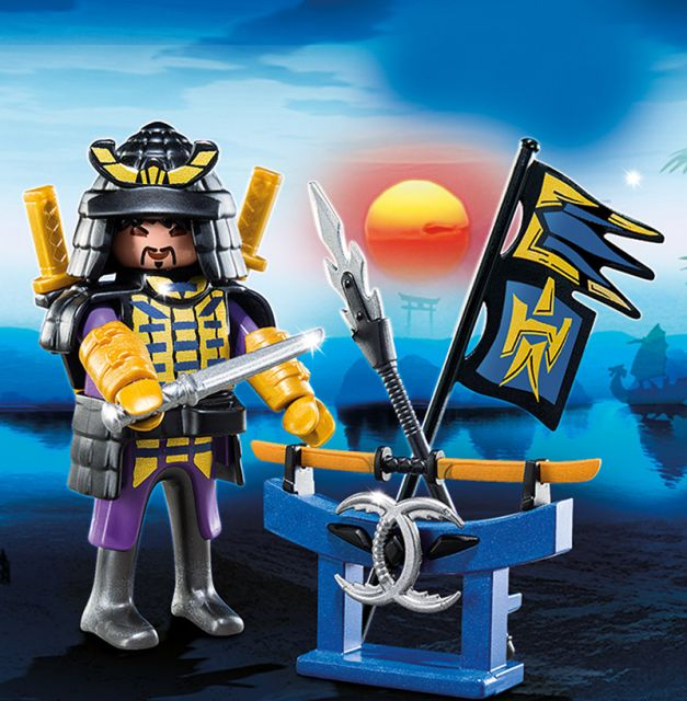 Playmobil-Samurai cu arme