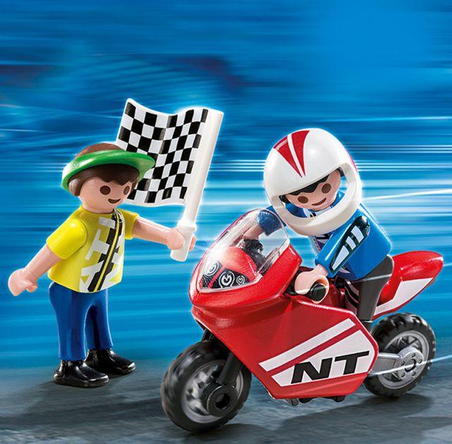 Playmobil-Baieti cu motociclete