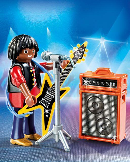 Playmobil-Star rock