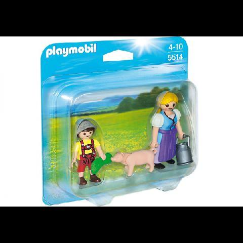 Playmobil-Set femeie si copil
