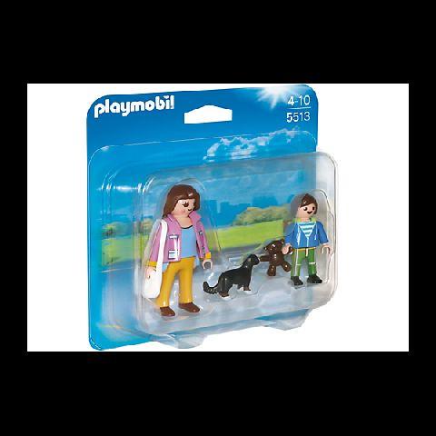 Playmobil-Set mama si copilul la scoala