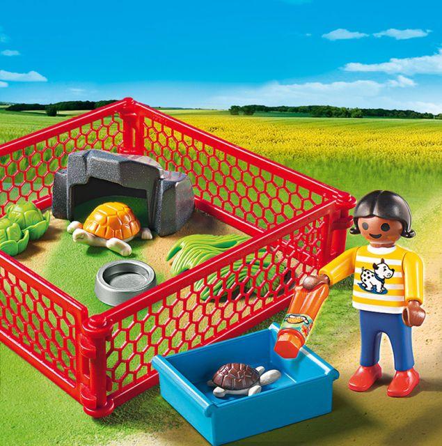 Playmobil-Tarc pentru testoase