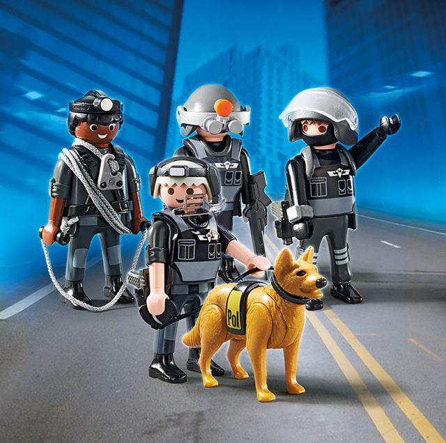 Playmobil-Echipa tactica