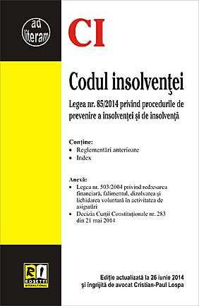 CODUL INSOLVENTEI (2014-06-26)