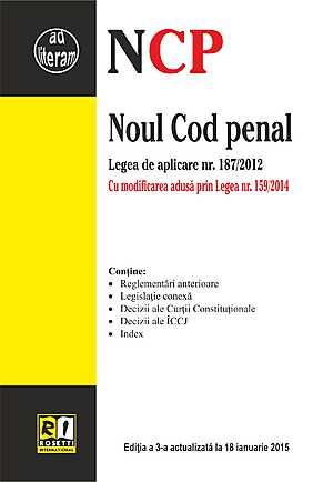 NOUL COD PENAL - EDITIA A 3-A (2015-01-18)