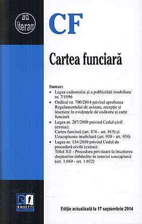 CARTEA FUNCIARA (2014-09-17)