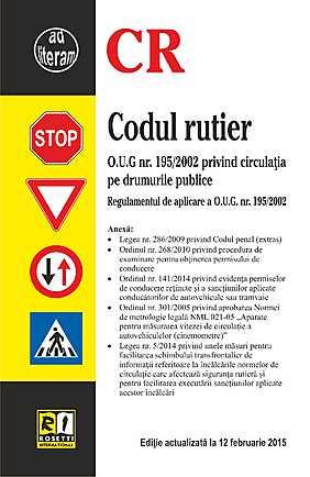 CODUL RUTIER (2015-02-12)