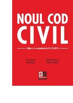 NOUL COD CIVIL (2014-10-01) - 2 CULORI