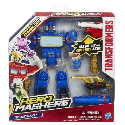 Transformers-Figurina Robot Battle upgrade Mashers,15cm