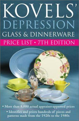 KOVEL`S DEPRESSION GLASS