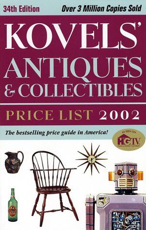 KOVEL`S ANTIQUES AND COLLECTIBLES PRICE