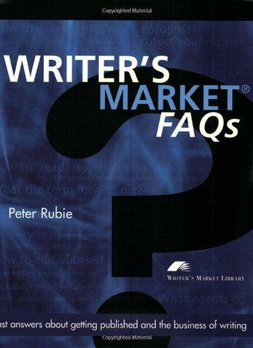 WRITER`S MARKET  FAQ S