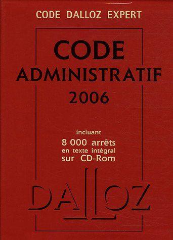 CODE ADMINISTRATIF (+CD-ROM )