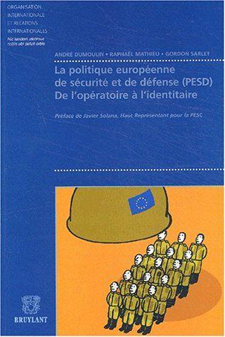 LA POLITIQUE EUROPEENNE