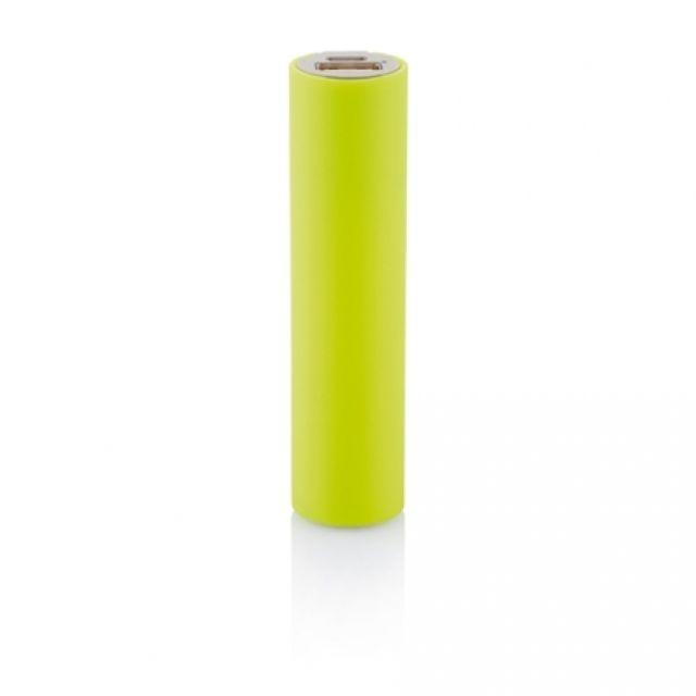 Baterie portabila 2200mAh cilindru, galben