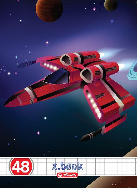 Caiet A5,48file,Space,matematica