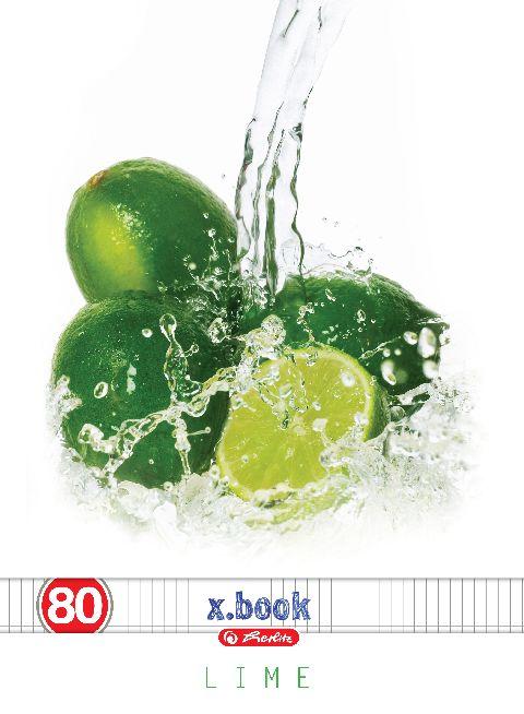 Caiet A4,80file,Fresh Fruits,matematica