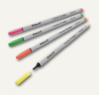 Liner Pelikan 96,culori neon,4buc/set