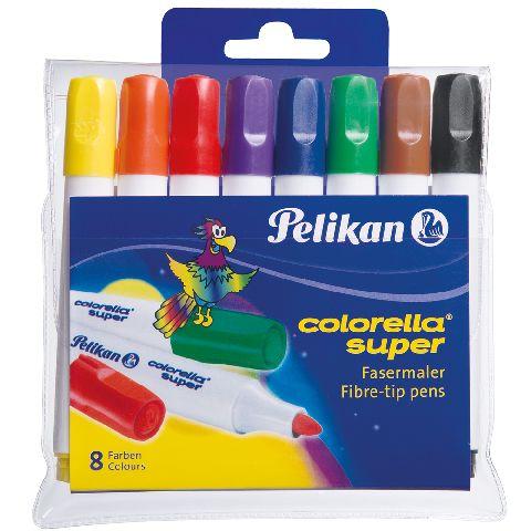 Markere pt copii,8b/s,Pelikan,lavabile