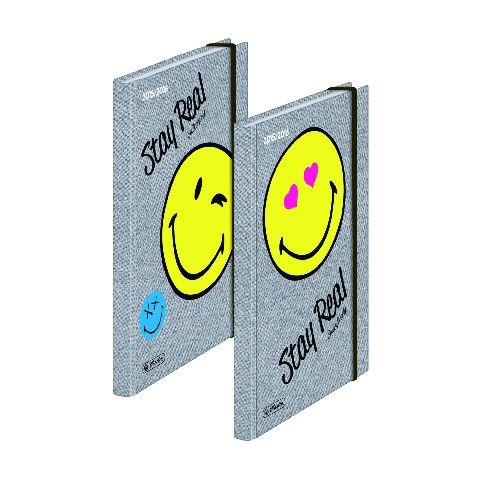Agenda A5,160file,elastic,Smiley Fancy