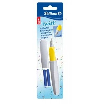 Stilou Pelikan Twist,grip,2rez,pearl