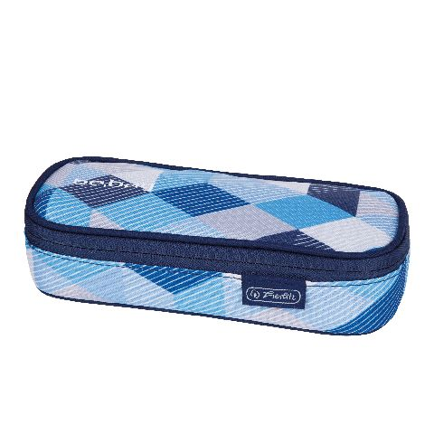 Pouch Be.Bag Cube,Blue Checked