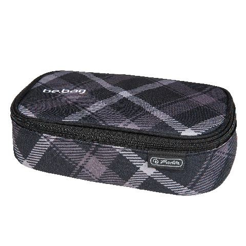 Pouch Be.Bag Beat,Black Grey Checked