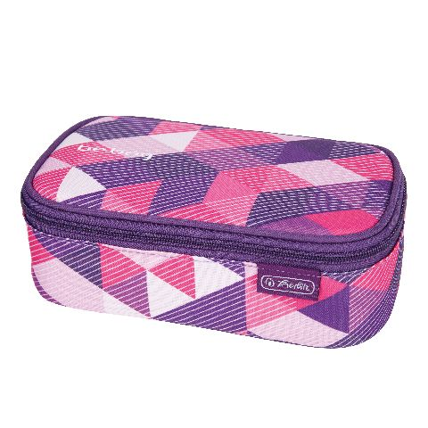 Pouch Be.Bag Beat,New Checked Purple