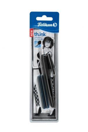 Stilou Pelikan th.INK,penitaM,2rez,negru