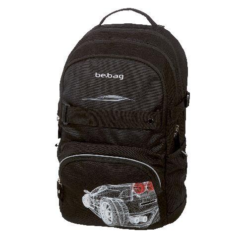 Rucsac Be.Bag Cube,Grid Car