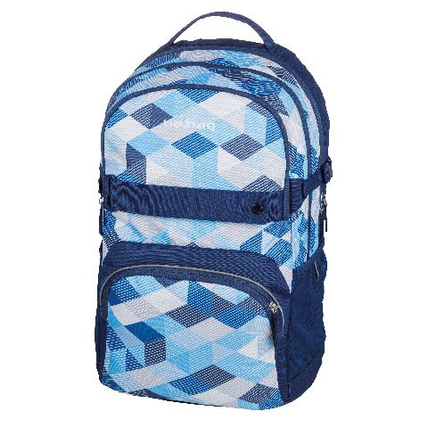 Rucsac Be.Bag Cube,Blue Checked