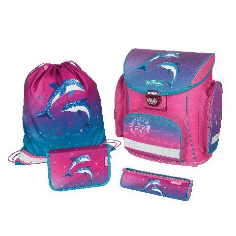 Ghiozdan echipat Midi,Dolphin Love